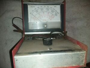 Snap On Mt 417 Vintage Auto Car Mechanic Garage Tool Secondary Tach Dwell Meter