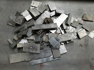 25 Lbs Printers Lead Strip Material Scrap Type Linotype Metal