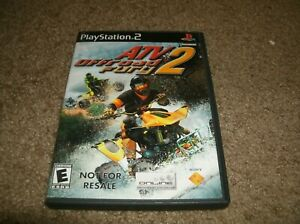 ATV Offroad Fury 2 Not for Resale Playstation 2 PS2 Video Game Complete