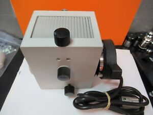 Leitz Lamp Assembly Illuminator Optics Microscope Part As Pictured