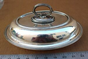 Awesome Mappin Webb Silver Triple Deposit Prince S Plate Covered Casserole