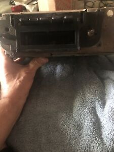 Delco 731098 Am 8 Track For Parts Could Be Amfm May Fit Late 70s Camaro Firebir