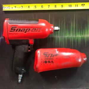 Snap On Mg725 1 2 Drive Heavy duty Air Impact Wrench red Usa