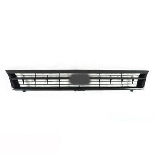 Fits 1992 1995 Toyota Corolla Front Upper Grille Matte Black 1pc