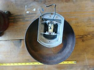 Vintage Fire Alarm Bell The W l Jenkins Co 4025 120 Volts 09 Amps 10