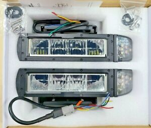 1312100 Buyers Universal Low Profile Heated Led Snow Plow Light Kit