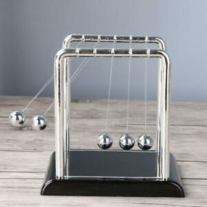 Well Newton Cradle Balance Steel Ball Physics Science Pendulum Desk Gift Toy New