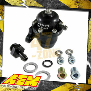 Aem Adjustable Fuel Pressure Regulator For 1996 2005 Honda Accord Civic S2000