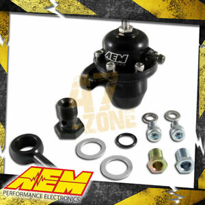 Aem Adjustable Fuel Pressure Regulator For 1988 2002 Honda Crx Civic Prelude
