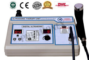 Ultrasound Therapy 1 Mhz Freq Physical Therapy Soft Tissue Muscle Cont