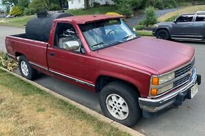 300 Gallon Sealcoating Seal Coating Unit Custom Mounted On A 1990 Chevy Truck