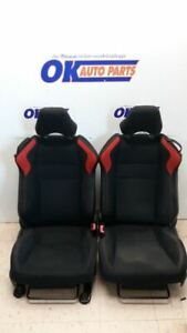 13 16 Scion Frs Fr s Driver Left Front Bucket Seat Set Hot Rod Conversion Red