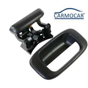 New Tailgate Handle W Bezel With Clips For 99 07 Chevy Silverado Gmc Sierra