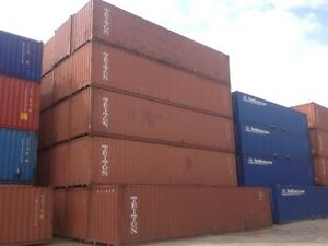 40 Foot Shipping Storage Container Miami Florida