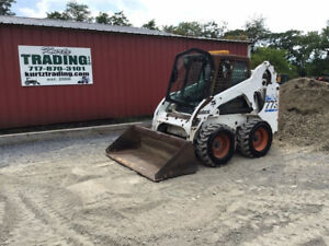 2002 Bobcat 773g Skid Steer Loader W Cab Kubota Diesel Engine One Owner 1100hrs