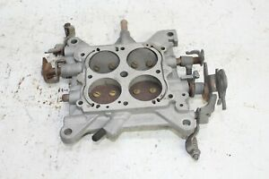 Holley 12r 7541b Double Pumper 4776 600 Cfm Carburetor Base Plate
