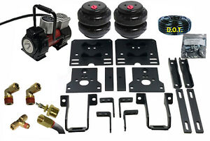 Rear Axle Level Air Tow Assist Kit For 2005 10 Ford F350 1 Ton Pick Up Over Load