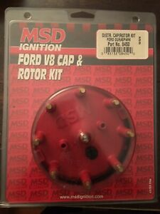 Msd Ignition 8450 Distributor Cap And Rotor Kit