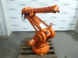 Used Abb Irb 1410 M2004 Type B 6 Axis Industrial Robot Arm Only