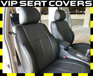 2014 2020 Toyota 4runner 2 Row Clazzio Black Synthetic Leather Seat Covers
