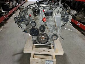 Engine Out Of A 2011 Mercedes C300 4matic 3 0l Motor With 54 551 Miles