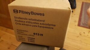 Genuine Pitney Bowes Sendpro Connect 1000 613 h Postage Meter Tape 3 Rolls
