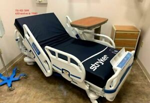 Pre owned Stryker S3 Hospital Bed W New Mattress