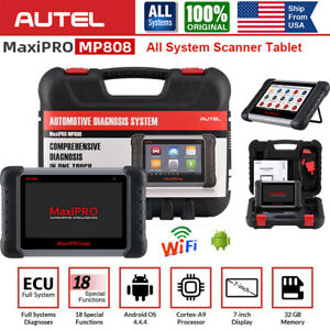 Autel Mp808 Full system Scanner Active Test Obd2 Diagnostic Tool Key Coding Immo