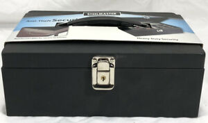 Steelmaster Anti theft Security Case Cash Box With Security Cable 221613004
