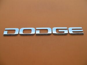 02 03 04 05 06 07 08 Dodge Ram 1500 2500 3500 Rear Emblem Logo Badge Sign A9573