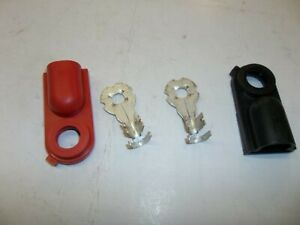 Replacement Side Post Battery Terminal Pos And Neg With Terminal Protectors