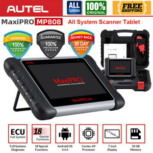 Autel Mp808 Car Active Test Read Clear Codes Obd2 Full system Diagnostic Scanner