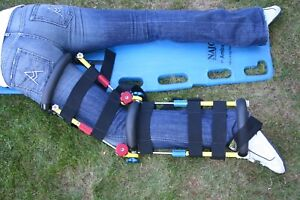 Traction Extraction Leg Splints Fully Positionable Made In Usa