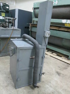 Torit 66 1 2hp 220 440v 3ph Dust Collector W foot Operated Filter Shaker 2 Avail