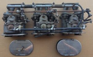 Austin Healey 3000 100 6 3 Weber 40 Dcoe Carbs Vel Stacks Manifolds Linkage