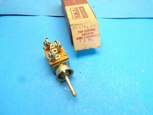 Nos 1956 57 Ford Sunliner Convertible Power Top Control Switch B6a 15668 A1