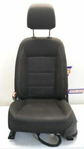 18 2018 Gmc Terrain Driver Left Front Bucket Seat Black Cloth Power Heated