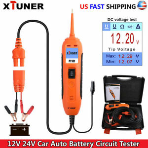 12v 24v Car Power Circuit Probe Tester 5 Modes Auto Electrical System Powerscan