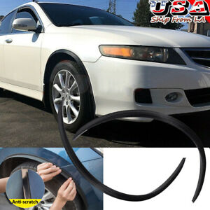 4pcs Carbon Fiber Wheel Eyebrow Arches Fender Flares Cover Trim For Acura Tl Tsx