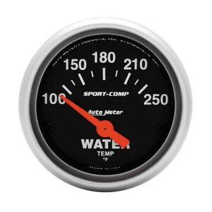 Auto Meter 3337 Sport Comp 2 1 16 Electric Water Temp