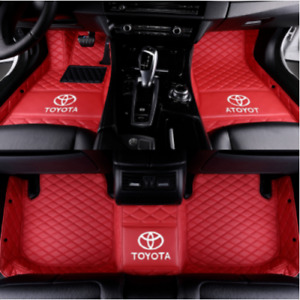 Fit Toyota Camry 2004 2021 Car Floor Mats Front Rear Liner Waterproof Auto Mats