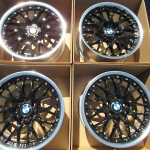 17 Bmw E36 E46 M3 325i 328 Z3 Bbs 2 Piece Rs765 Style 42 Wheels Rims Staggered