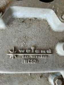 Weiand Wcsq Mopar 413 426 440 Intake Manifold Say Why and Dodge Chrysler