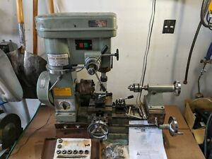 Harbor Freight Metal Lathe Mill Combo Machine 5980