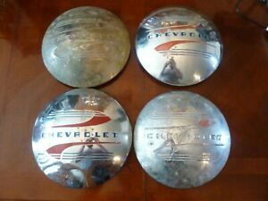 1940 S Chevrolet Hub Caps 4 Chevy Car Truck Gm Oem