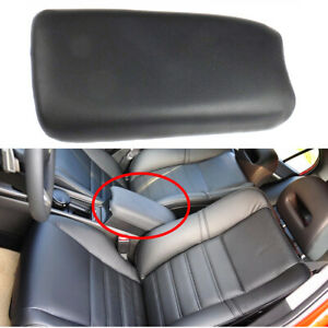 Black Fit For Civic 2006 2007 2008 2009 2010 2011 Front Arm Rest Leather Cover