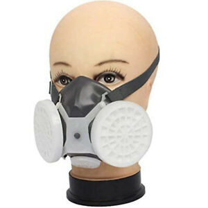 For Painting Spraying Working Laboratory Chemistry Safety Respirator Face Mask