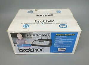Brother Fax 575 Personal Plain Paper Fax Phone Copier