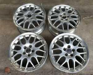 Jdm 15 Bbs Rs Rim Wheels Pcd100x5 For Volkswagon Vw