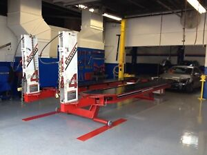 Blackhawk System 4 Frame Machines 18 X 7 6 Fully Hydraulic Clamps Included